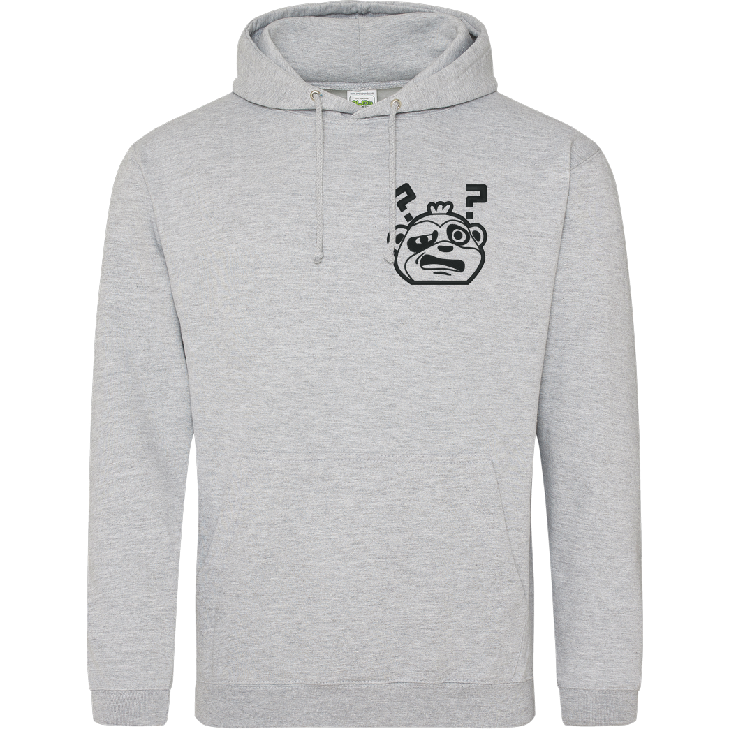 JadiTV JadiTV - Confused Stick Logo Sweatshirt JH Hoodie - Heather Grey