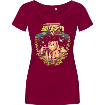 Ilustrata A Kitty To The Past T-Shirt Girlshirt berry