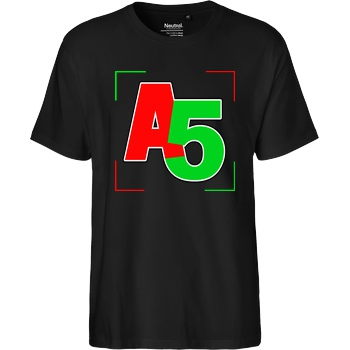 Ash5ive Ash5ive - Logo Ecken T-Shirt Fairtrade T-Shirt - black