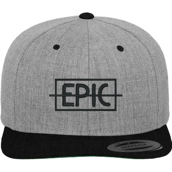 Die Buddies zocken 2EpicBuddies - Epic Cap Cap Cap heather grey/black