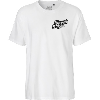 Krench Royale Krench - Royale T-Shirt Fairtrade T-Shirt - white