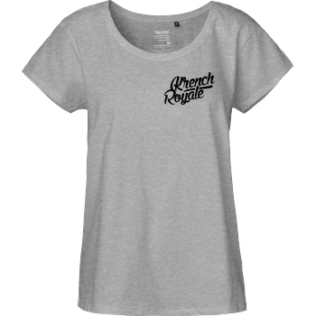 Krench Royale Krench - Royale T-Shirt Fairtrade Loose Fit Girlie - heather grey
