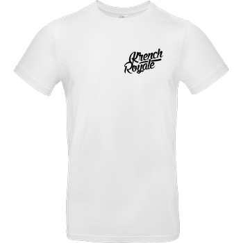 Krench Royale Krench - Royale T-Shirt B&C EXACT 190 -  White