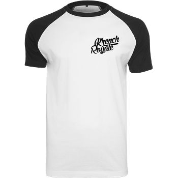 Krench Royale Krench - Royale T-Shirt Raglan-Shirt weiß