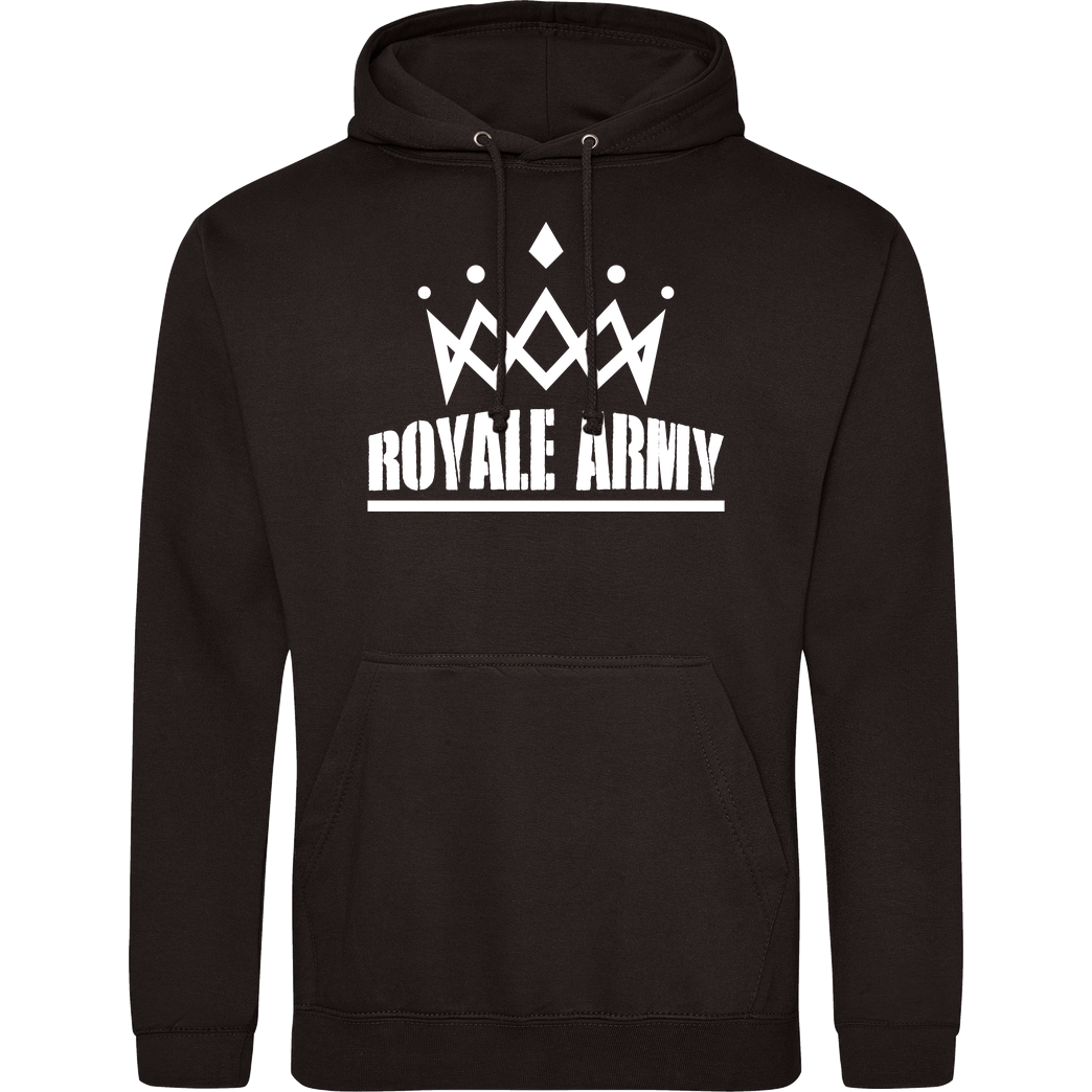 Krench Royale Krench - Royale Army Sweatshirt JH Hoodie - Schwarz