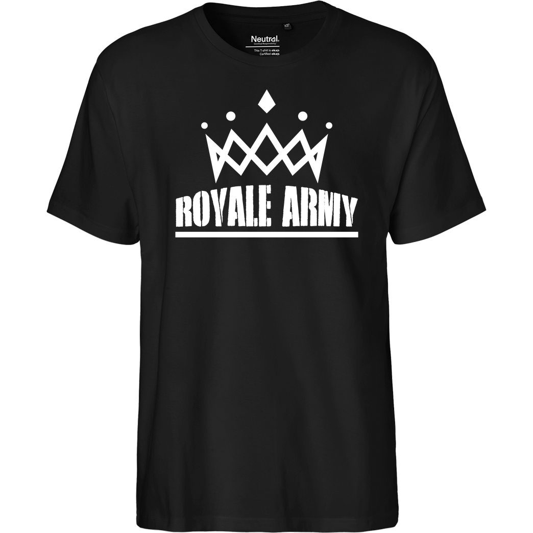 Krench Royale Krench - Royale Army T-Shirt Fairtrade T-Shirt