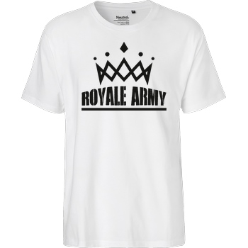 Krench Royale Krench - Royale Army T-Shirt Fairtrade T-Shirt - white