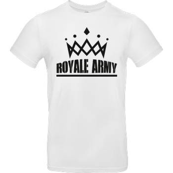 Krench Royale Krench - Royale Army T-Shirt B&C EXACT 190 -  White
