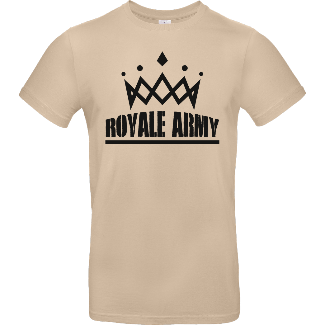 Krench Royale Krench - Royale Army T-Shirt B&C EXACT 190 - Sand