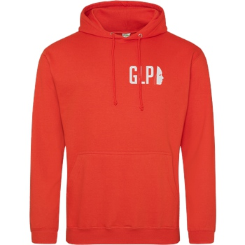 GermanLetsPlay Germanletsplay - Maske Stick Sweatshirt JH Hoodie - Orange
