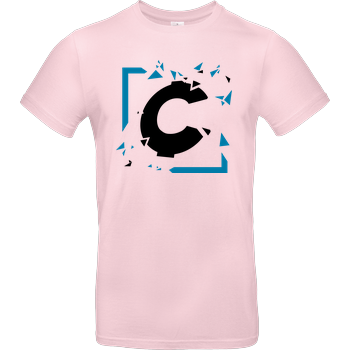 C0rnyyy - Shattered Logo B&C EXACT 190 - Light Pink