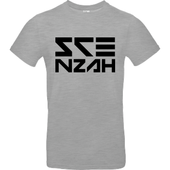 Scenzah - Logo B&C EXACT 190 - heather grey