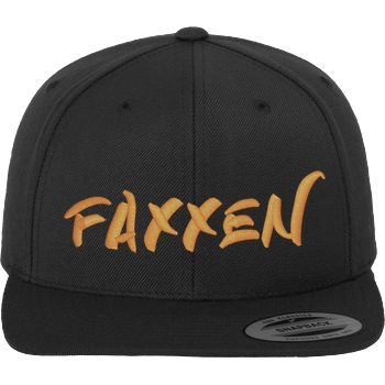 FaxxenTV - Logo Cap orange