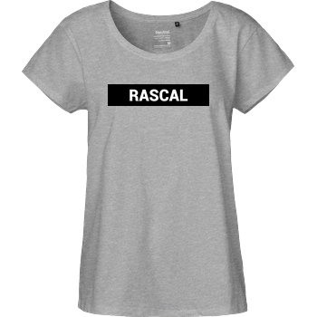 Sephiron Sephiron - Rascal T-Shirt Fairtrade Loose Fit Girlie - heather grey