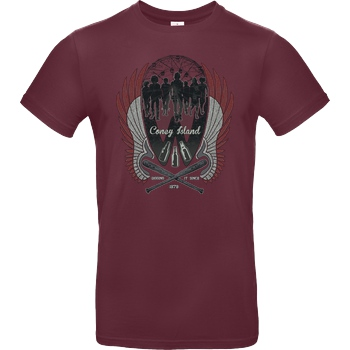 Rico Mambo Warriors are Home T-Shirt B&C EXACT 190 - Bordeaux