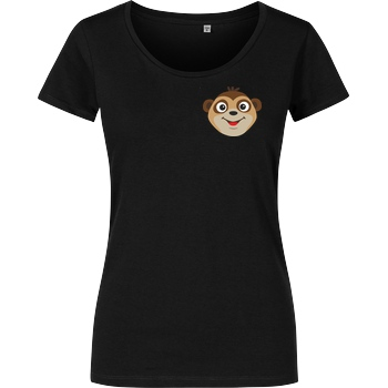 JadiTV JadiTV - Normal T-Shirt Girlshirt schwarz