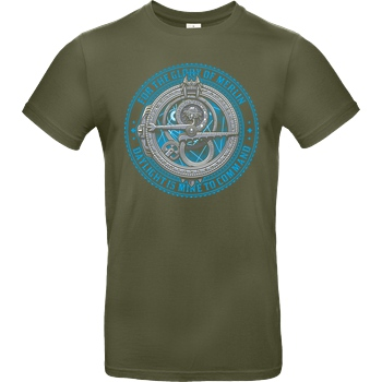 StudioM6 Hero Hunter v1 T-Shirt B&C EXACT 190 - Khaki