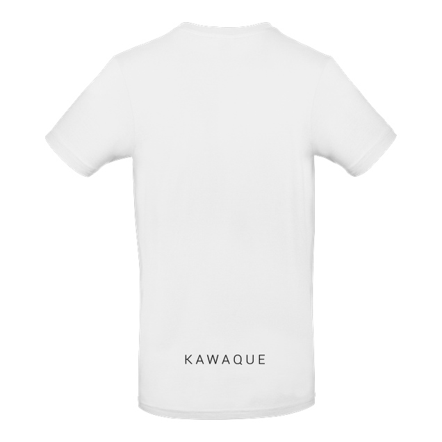 KawaQue - KawaQue - Race chinese - T-Shirt - B&C EXACT 190 - Weiß