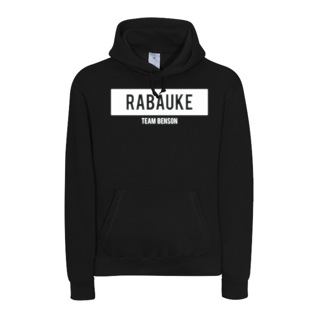 Benx - Benx - Rabauke Glow in the Dark - Sweatshirt - B&C HOODED - Schwarz