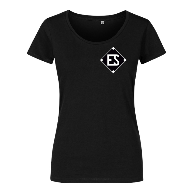 EngineSoldier - EngineSoldier - Logo - T-Shirt - Damenshirt schwarz