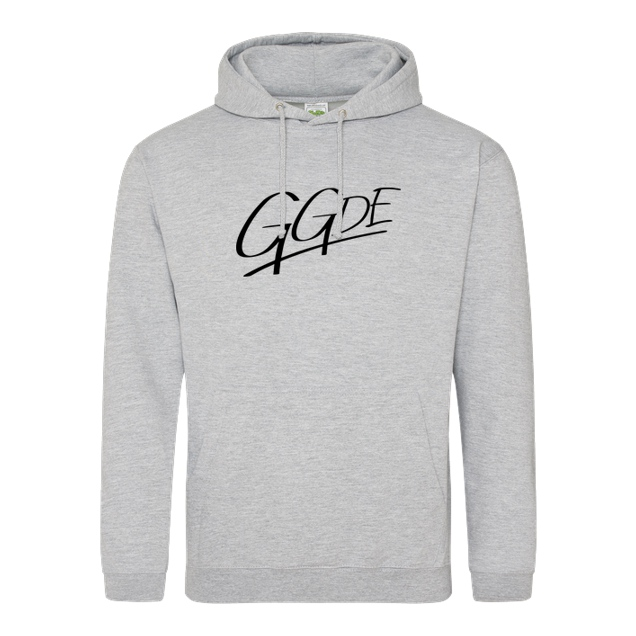 gamingguidesde - GGDE - Logo - Sweatshirt - JH Hoodie - Heather Grey