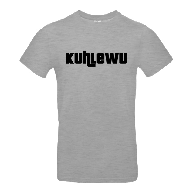 Kuhlewu - Kuhlewu - Shirt - T-Shirt - B&C EXACT 190 - heather grey