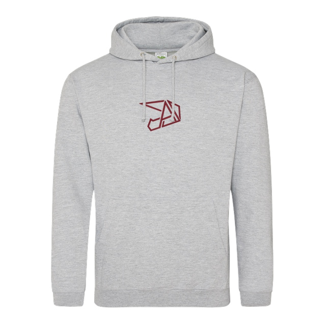 Anica - Anica - Embroidered Logo - Sweatshirt - JH Hoodie - Heather Grey