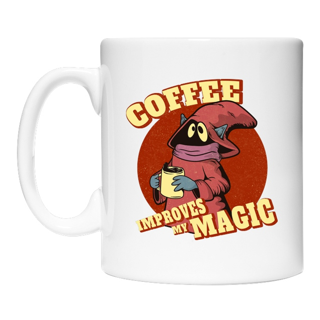 Leepianti - Coffee Improves my Magic - Sonstiges - Coffee Mug