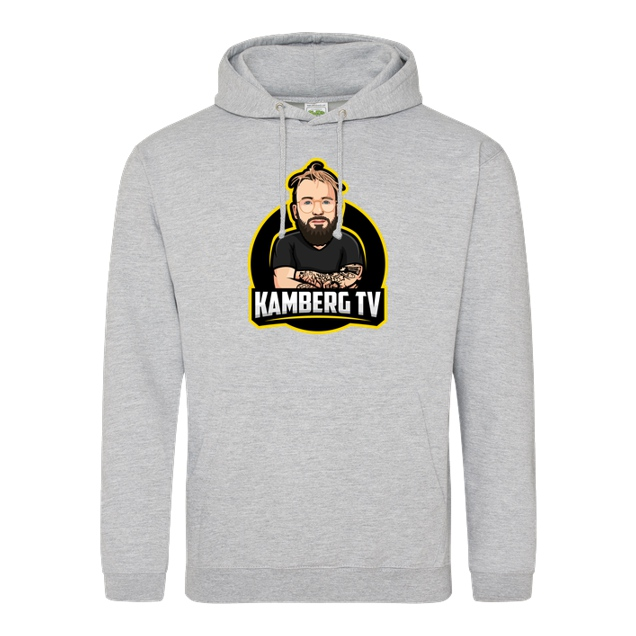 Kamberg TV - Kamberg TV - Kamberg Logo - Sweatshirt - JH Hoodie - Heather Grey