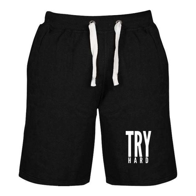 MarcelScorpion - MarcelScorpion - Try Hard weiß - Sonstiges - Shorts schwarz