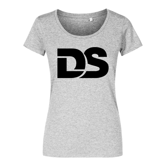 DerSorbus - DerSorbus - Old school Logo - T-Shirt - Girlshirt heather grey