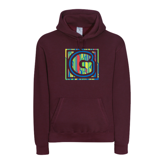 GommeHD - GommeHd - Square - Sweatshirt - B&C HOODED - bordeaux