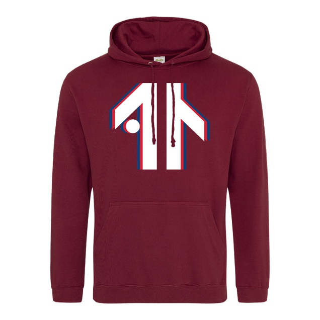 Dustin - Dustin Naujokat - Colorway Logo - Sweatshirt - JH Hoodie - Bordeaux
