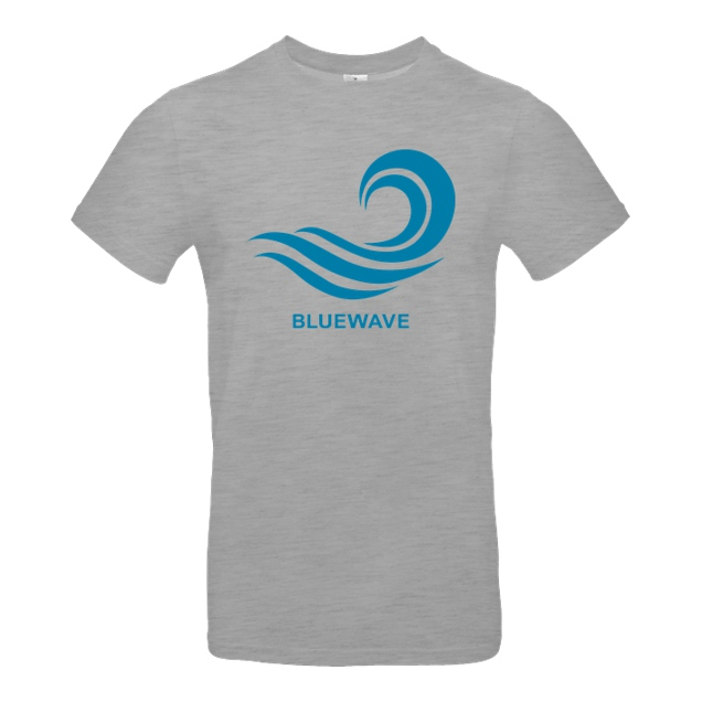 Team Prismatic - Team Prismatic - Blue Wave - T-Shirt - B&C EXACT 190 - heather grey