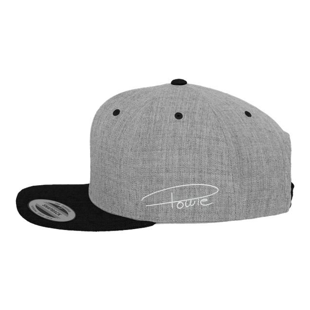 Powie - Powie - Cap - Cap - Cap heather grey/black