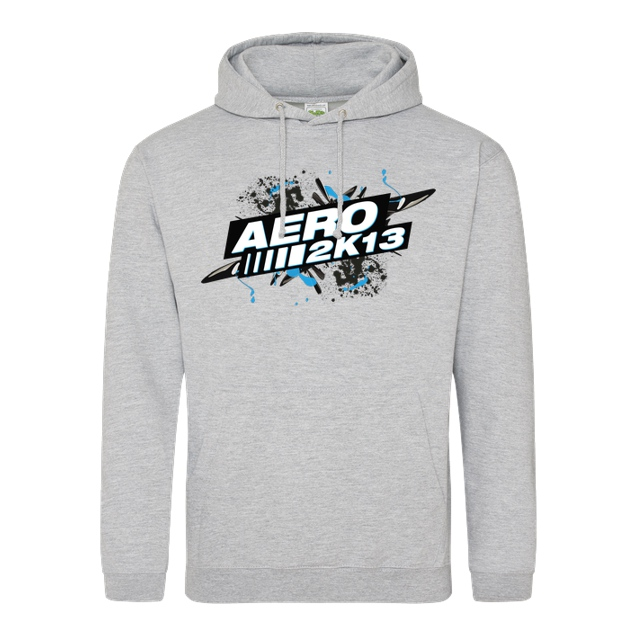 Aero2k13 - Aero2k13 - Logo - Sweatshirt - JH Hoodie - Heather Grey