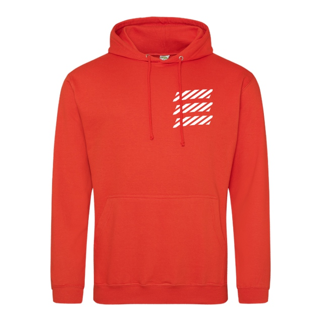 Echtso - Echtso - Striped Logo - Sweatshirt - JH Hoodie - Orange