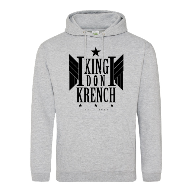 Krench Royale - Krencho - Don Krench Wings - Sweatshirt - JH Hoodie - Heather Grey