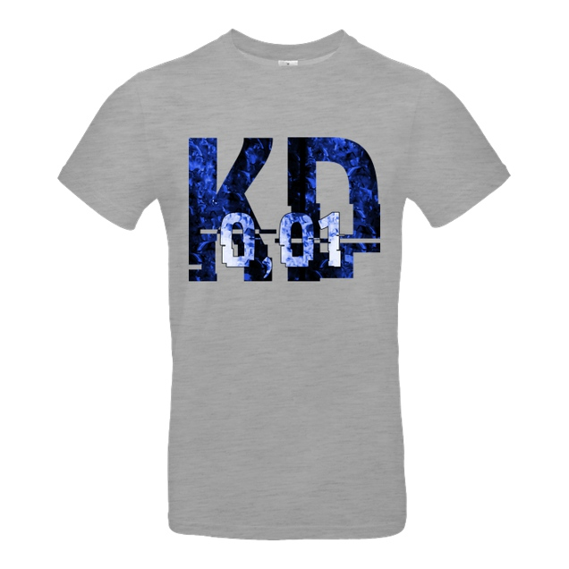 Krench Royale - Krencho - Blue Matter - T-Shirt - B&C EXACT 190 - heather grey