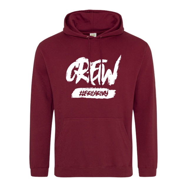 GamerBrother - GamerBrother - Crew-Hoodie - BroArmy - Sweatshirt - JH Hoodie - Bordeaux